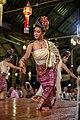 Chiang Mai. Benjarong Khantoke. Traditional Thai dance. 2016-10-14 20-41-12.jpg