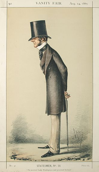 Chichester Parkinson-Fortescue, 1st Baron Carlingford - Lord Carlingford caricatured by Ape in Vanity Fair, 1869