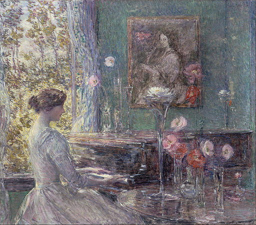 Childe Hassam - Improvisation - Google Art Project