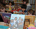Children of U.S. Service members enjoy activities and stories in the library at RAF Mildenhall, England, May 1, 2013 130501-F-FE537-0023.jpg