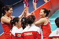 China national volleyball team at the 2012 Summer Olympics (7913861742).jpg