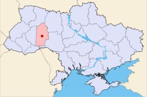 Хмельницький на карті України 422ae44fe9b5a