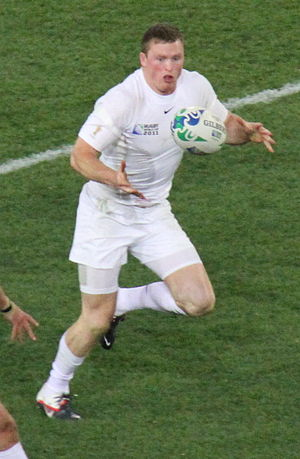 Chris Ashton - Ashton during 2011 RWC