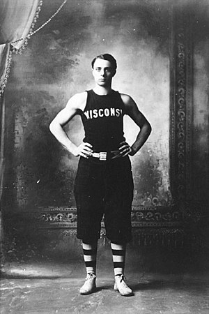 Christian Steinmetz - Steinmetz in Wisconsin uniform, 1905