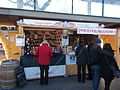 Christmas market 20 15 Erzsébet Square. Keve and Szeleshát. - Budapest.JPG