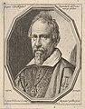 Christoforo Roncalli, called Pomerancio, a bust-length portrait in a twelve-sided frame MET DP833525.jpg