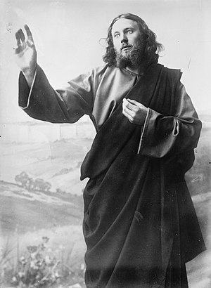 Anton Lang - Anton Lang as Jesus in the Oberammergau Passion Play of 1900
