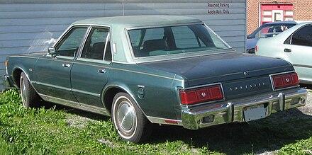 Chrysler lebaron wikiwand 19771979 chrysler lebaron sedan fandeluxe Gallery