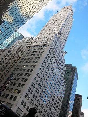 Chrysler Building - A view of the Chrysler Building from 42nd Street