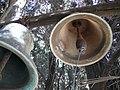 Church bells in Viri Galilaei, Jerusalem (9198145631).jpg