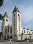 Church in Međugorje, B-H, June 4th 2007 (4)