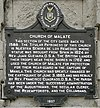 Church of Malate historical marker 2.jpg