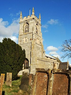 Collingham, Nottinghamshire - Church of St. John the Baptist, South Collingham