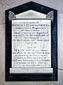 Church of St Andrew's, Boreham, Essex - Robert and Mary Haselfoote memorial.jpg