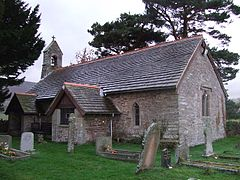 Church of St Beuno and St Peter, Llanveynoe (Geograph 713232 by Andrew Lewis).jpg