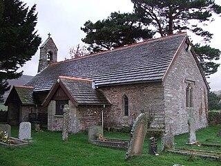 Llanveynoe village in United Kingdom