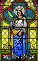 Church of the Sacred Heart (Coshocton, Ohio) - stained glass, Saint Catherine of Alexandria.JPG