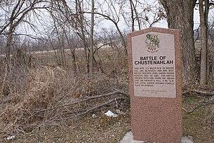 Battle Of Chustenahlah Wikipedia
