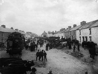 Cilgerran - Cilgerran fair circa 1885.