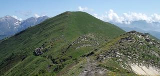 Cima Garlenda Mountain in Italy