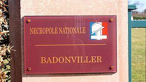Badonviller - Image: Cimbadon