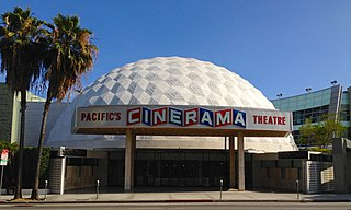 movie theater at Sunset Boulevard in Hollywood, Los Angeles, California, United States