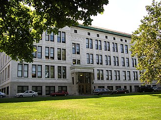 City Honors School - The front of City Honors School