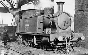 Plymouth, Devonport and South Western Junction Railway - Locomotive no 3 in later years