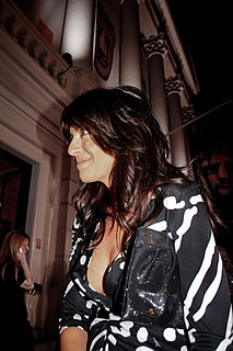 Claudia Winkleman British television presenter