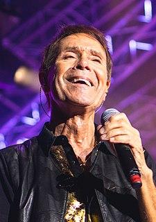 Cliff Richard British pop singer, musician, and actor