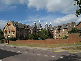 Hadlow - The converted maltings