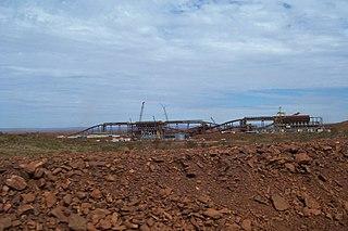 Cloudbreak mine mine in Australia