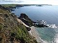 Coast near Freshwater - geograph.org.uk - 1511342.jpg