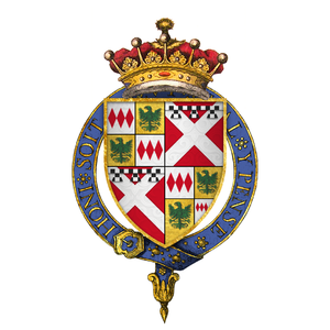 Richard Neville, 5th Earl of Salisbury - Arms of Richard Neville, 5th Earl of Salisbury, KG