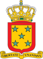 Coat of arms of the Netherlands Antilles 1996.png