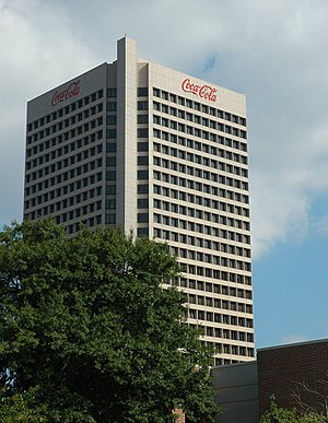 The Coca-Cola Company - Coca-Cola's corporate headquarters in Atlanta, Georgia, United States
