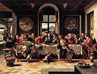 Coecke van Aelst, Pieter workshop - Last supper - Royal Museums of Fine Arts, Brussels .jpg