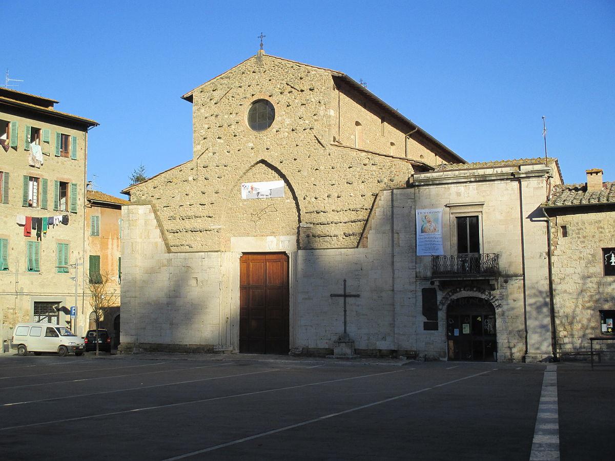 Chiesa di sant 39 agostino colle val d 39 elsa wikipedia for Gr2 arredamenti colle val d elsa