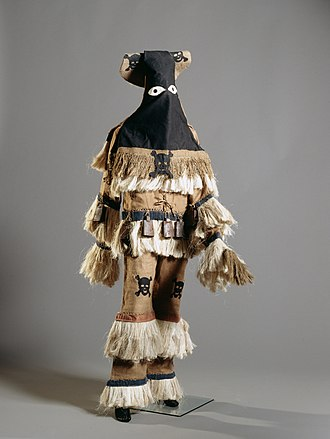 Abakuá - Ireme costume (National Museum of World Cultures)