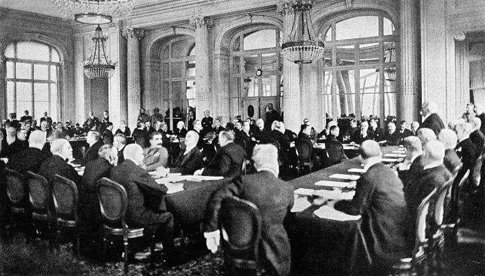 Collier's 1921 World War - Allies' terms announced at Trianon Palace.jpg