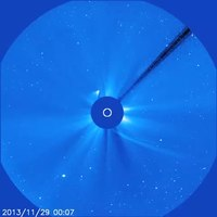 File:Comet ISON Being Destroyed by the Sun.webm