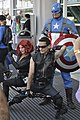 Comic Con 2013 - Avengers cosplayers assemble! (9335955748).jpg