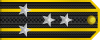 Commodore rank insignia (North Korea).svg