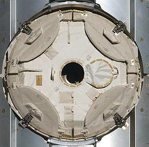 Common Berthing Mechanism - Image: Common Berthing Mechanism with micrometeorite layer