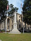 Confederate statue - Pitt County Courthouse - Greenville, North Carolina.jpg