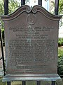 Congregation Kahal Kadosh Beth Elohim Historical Commission of Charleston Plaque.jpg
