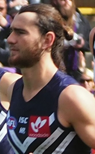 Connor Blakely - Connor Blakely playing at Domain Stadium in August 2016