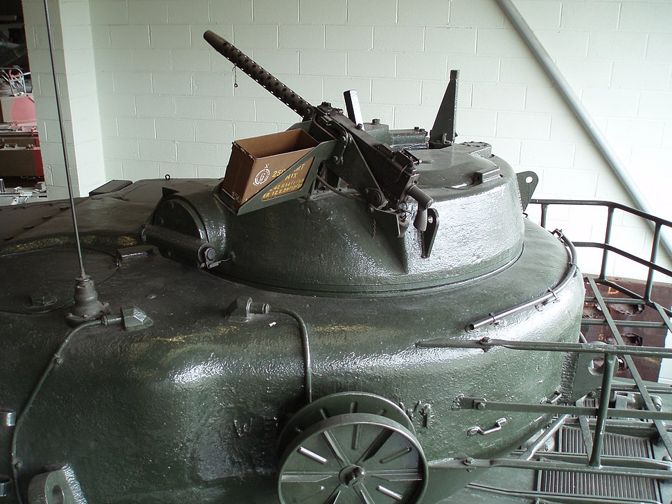 Conqueror cupola, Bovington Tank Museum