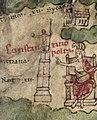 Constantinople on medieval copy of Tabula Peutingeriana 03.jpg
