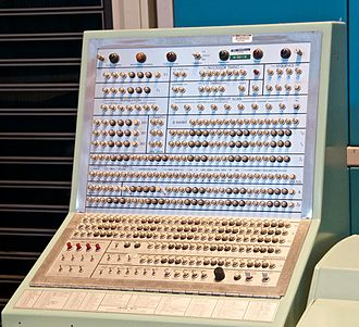 UNIVAC - Control panel for UNIVAC 1232